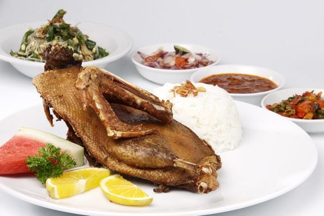 Bebek Bengil - Makanan Khas Bali