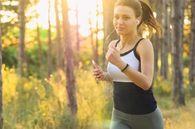 berolahraga setiap hari