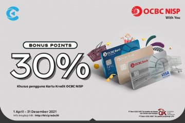 cashbac ocbc 30%