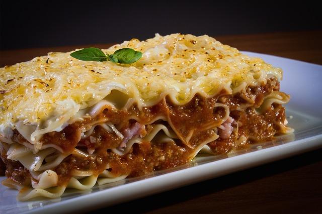 makanan terenak di dunia - lasagna
