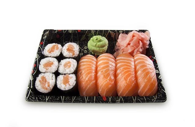 makanan terenak di dunia - sushi