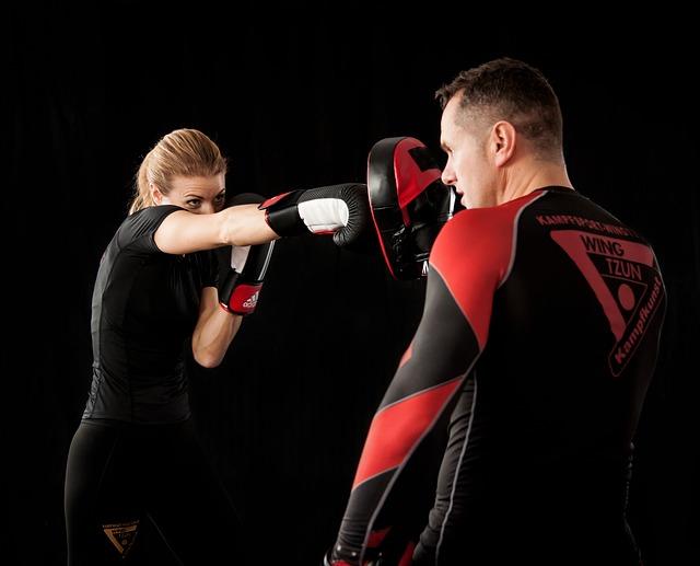 olahraga mengecilkan lengan - boxing