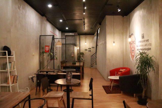 Cafe Instagramable di Jakarta - Diskusi Kopi & Ruang Berbagi