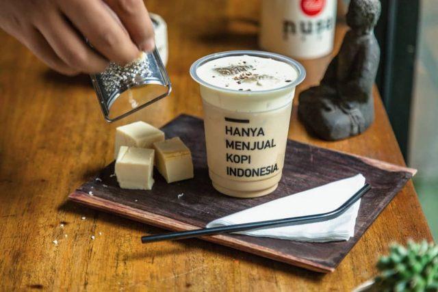 Kopi Terenak Kekinian di Jakarta - Es Kopi Susu Keju