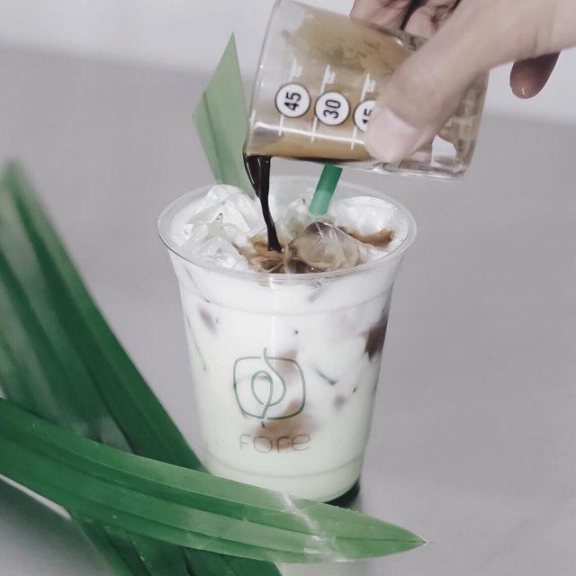 Kopi Terenak Kekinian di Jakarta - Fore Pandan Latte