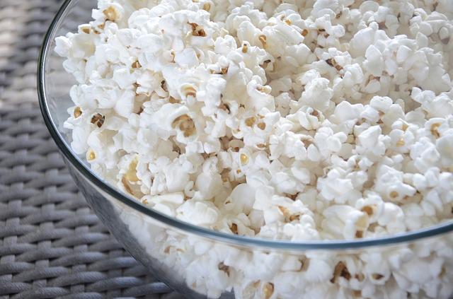 Makanan Berserat Tinggi - Popcorn