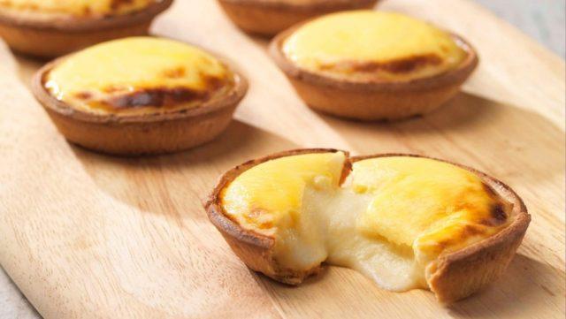 Makanan Ringan Kekinian - Egg Cheese Tart