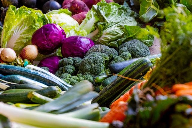 makanan penurun kolesterol - sayur-sayuran hijau