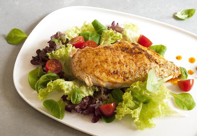 Makanan Berprotein Tinggi - Dada Ayam