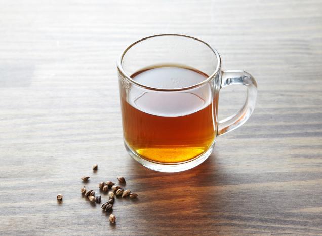 Rahasia Muka Glowing Alami - Minum Barley Tea