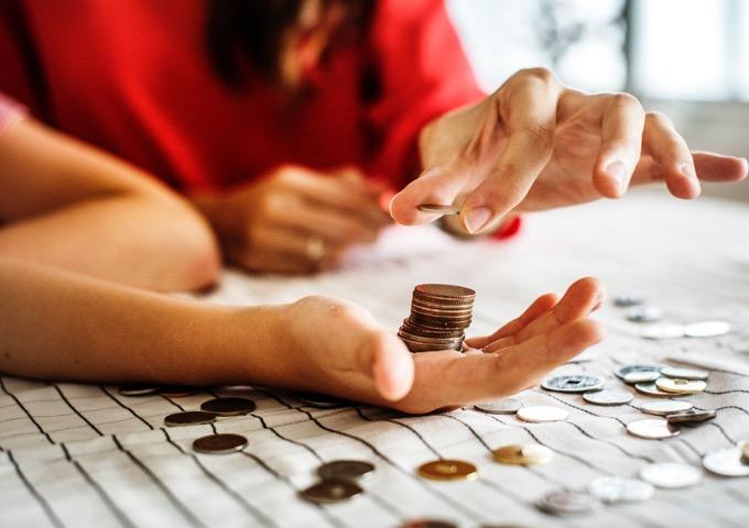 cara mengatur keuangan - membagi pendapatan