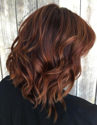 warna rambut chestnut brown