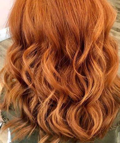 Warna rambut copper