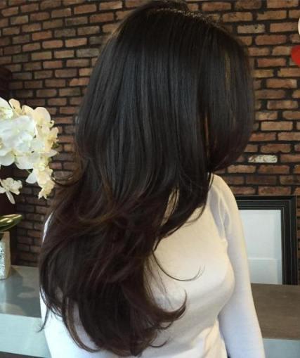 potongan rambut perempuan - layer