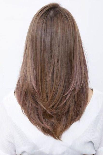 potongan rambut perempuan - shaggy