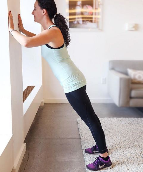 wall push up