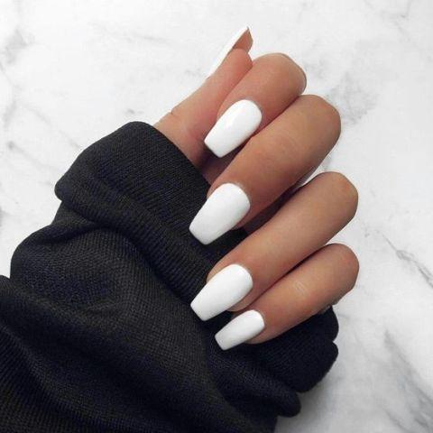 warna kutek yang bagus - putih
