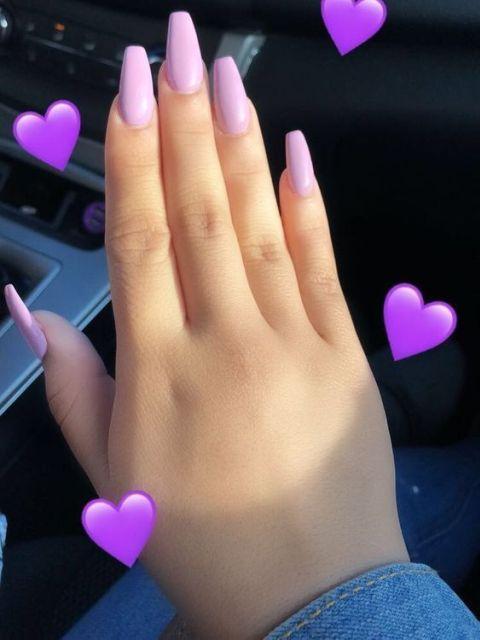warna kutek yang bagus - ungu