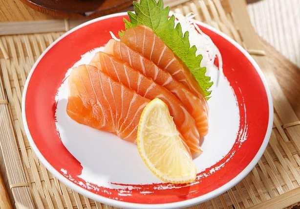 Salmon bikin mata melek