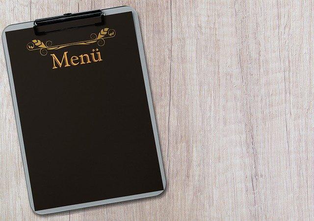 pilih menu makanan