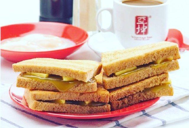 Makanan Enak Ya Kun Kaya Toast