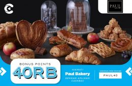 cashbac paul bakery 40%