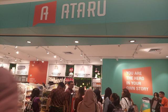 beli perlengkapan hujan di Ataru
