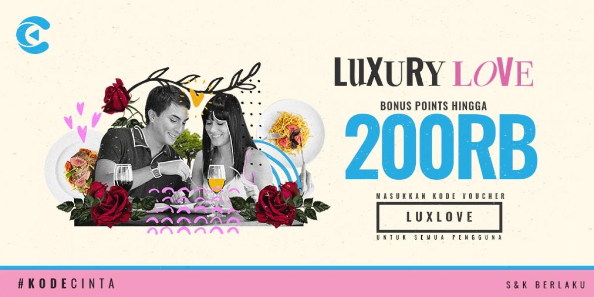 luxury love cashbac
