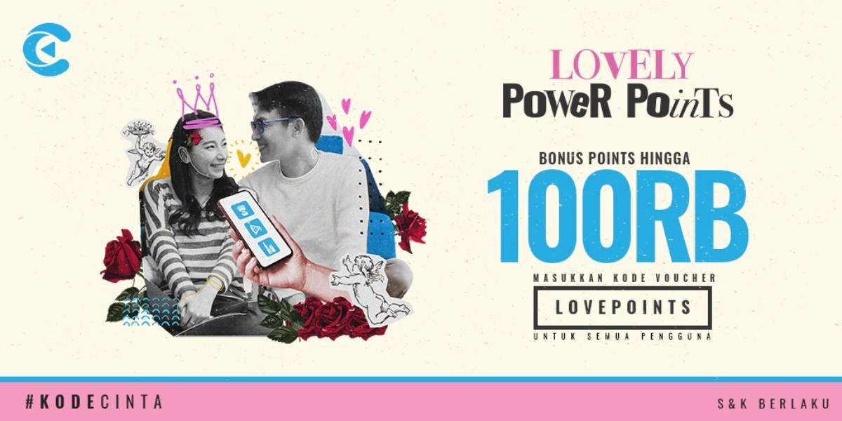 lovely power points cashbac