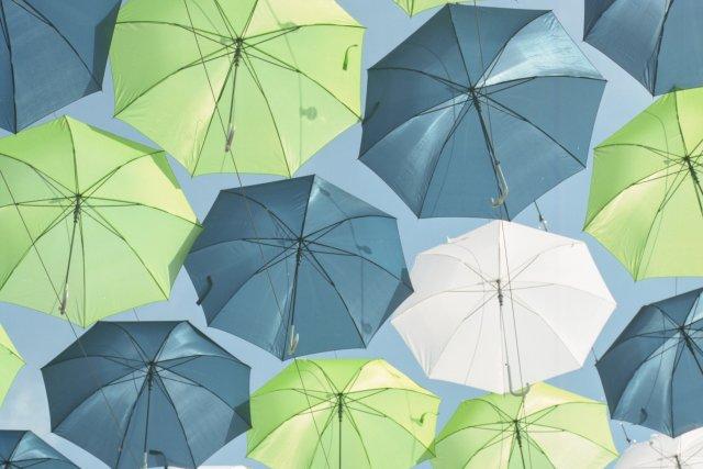 Payung perlengkapan musim hujan