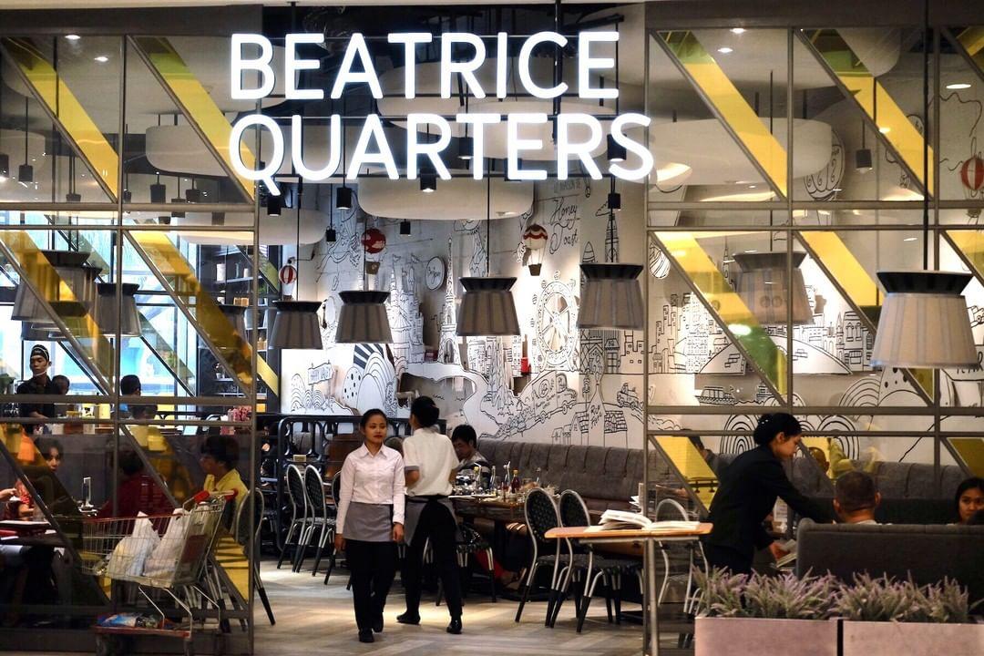Beatrice Quarters tempat dinner romantis di jakarta