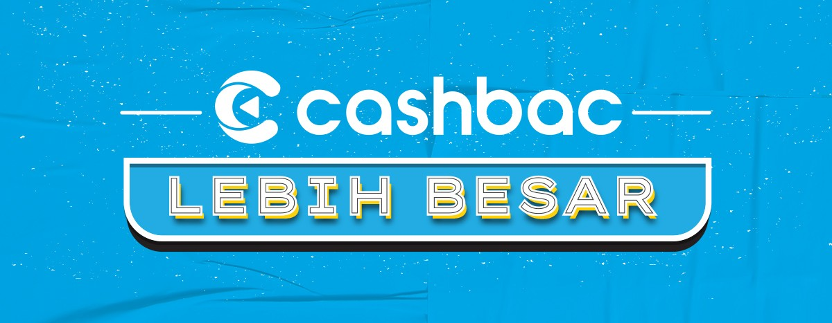 cashbac lebih besar