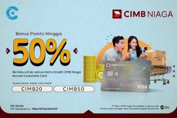 cashbac cimb niaga 50%