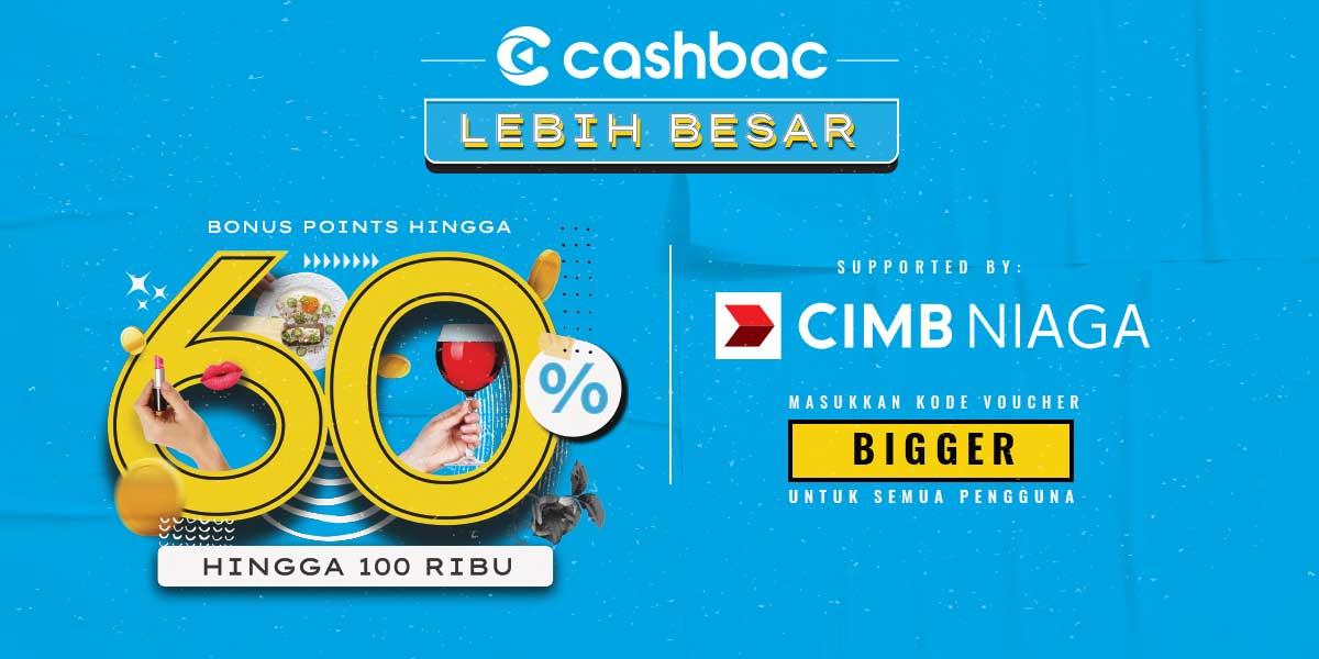 promo bigger cashbac
