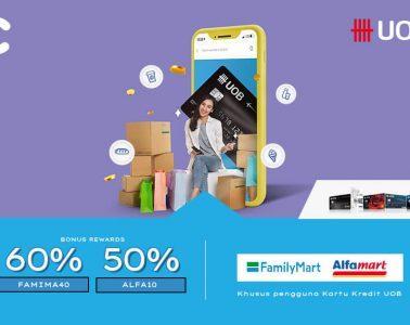 promo uob alfamart familymart
