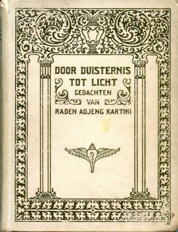 buku habis gelap terbitlah terang versi pertama