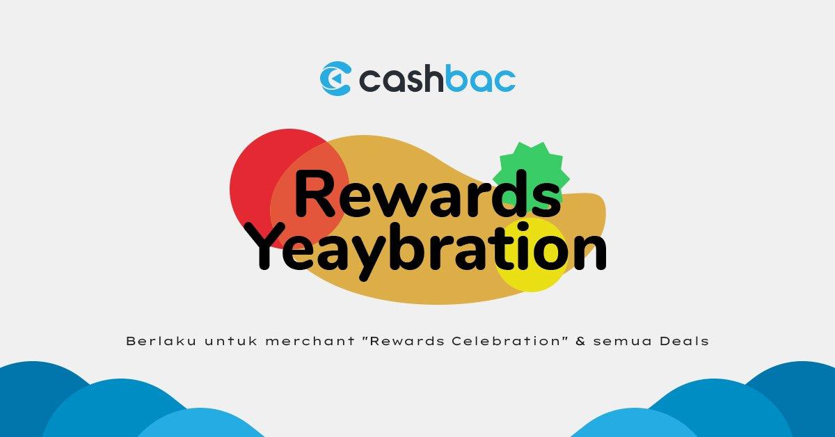 cashbac yeaybration