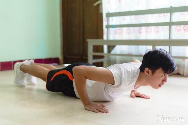 olahraga ringan di rumah push up