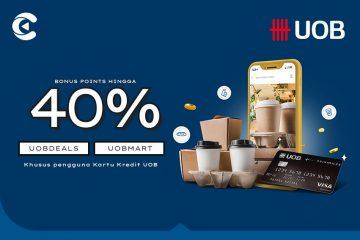 cashbac uob 40%