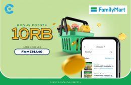 cashbac familymart 40%