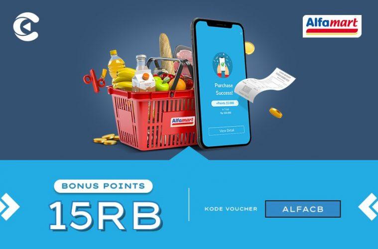 alfamart bonus 15 ribu cashbac