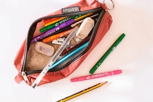 peralatan sekolah - tempat alat tulis
