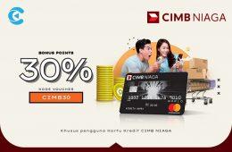 cashbac cimb niaga 30%