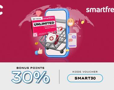 cashbac smartfren 30%