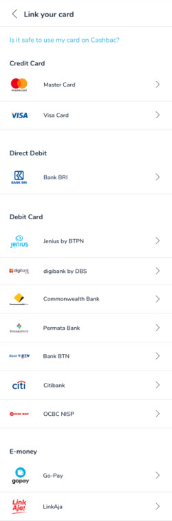 Link Card Cashbac