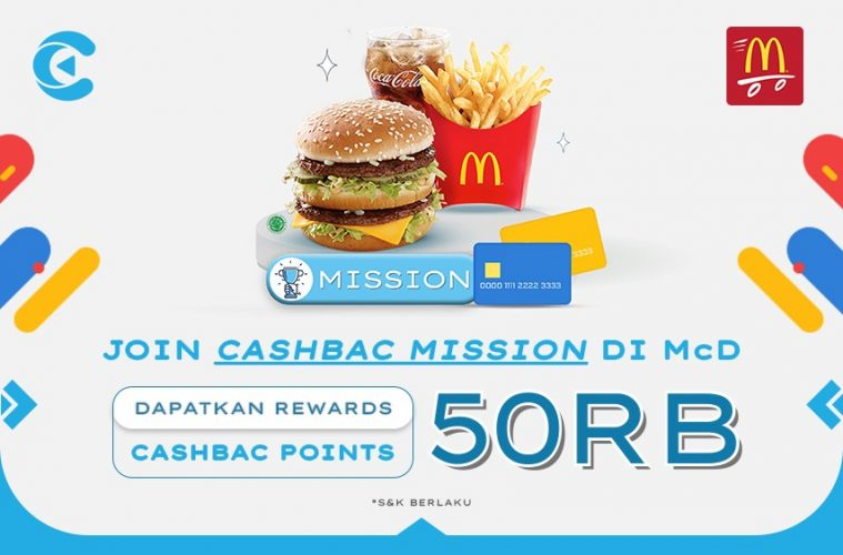 cashbac mcdonalds mission