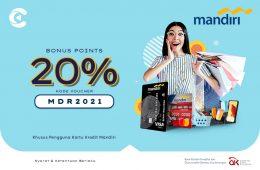 promo cashbac mandiri 20%