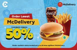 cashbac mcdelivery 50%