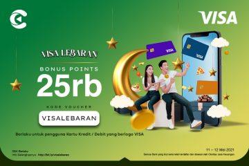 cashbac visa lebaran 25 ribu