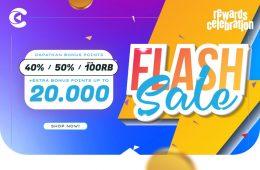 cashbac flash sale